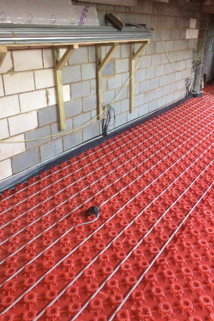 Underfloor heating by GRT Heating & Gas Services of Staines