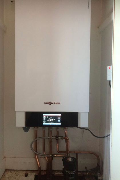 Viessmann boiler installation by GRT Heating & Gas Services of Staines