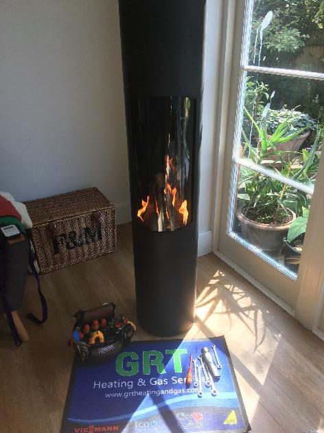 Gas fire Servicing London