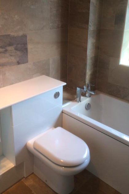 Bathroom installation by GRT Heating & Gas Services of Staines